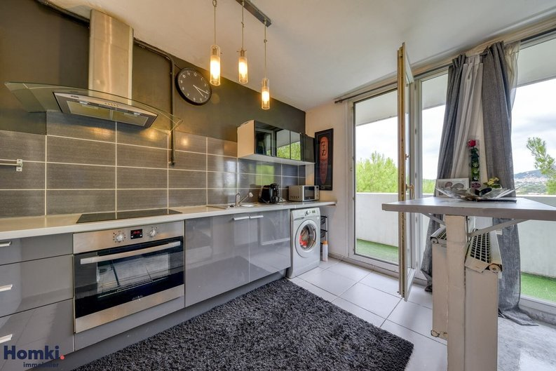 Homki - Vente appartement  de 66.04 m² à marseille 13013