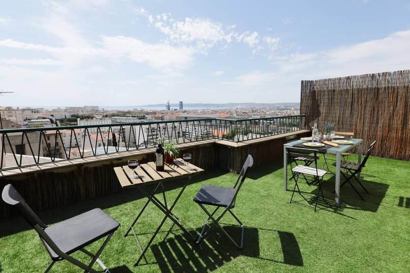 Homki - Vente appartement  de 40.0 m² à Marseille 13004