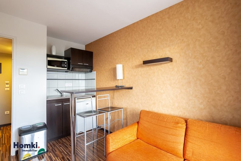 Homki - Vente appartement  de 27.0 m² à Toulouse 31300