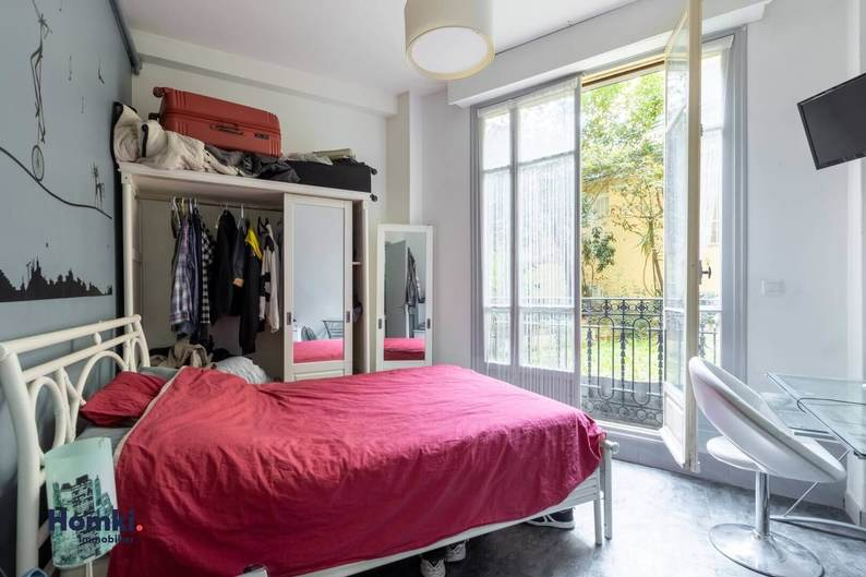 Homki - Vente appartement  de 42.0 m² à Nice 06000