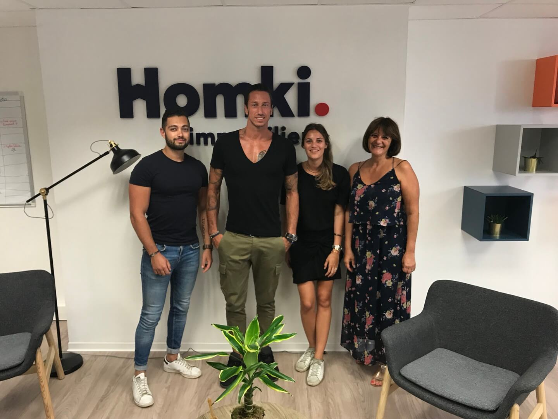 Homki - Vente appartement  de 75.0 m² à Marseille 13014