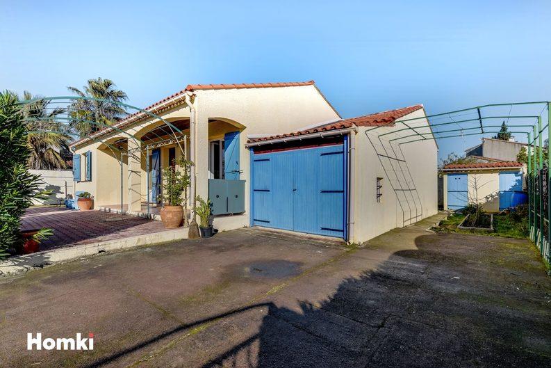 Homki - Vente maison/villa  de 80.0 m² à Saint-Laurent-d'Aigouze 30220