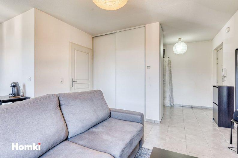 Homki - Vente appartement  de 28.0 m² à Gieres 38610