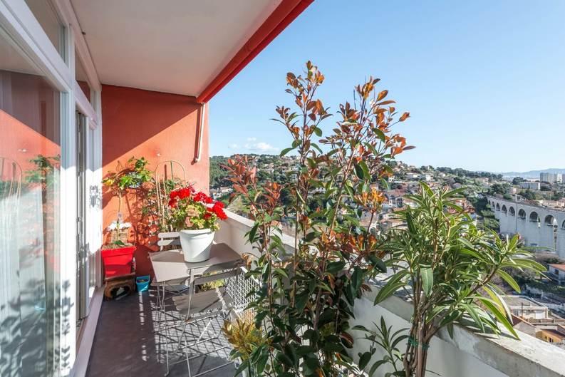 Homki - Vente appartement  de 72.0 m² à Marseille 13015