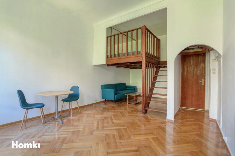 Homki - Vente appartement  de 35.0 m² à Marseille 13006