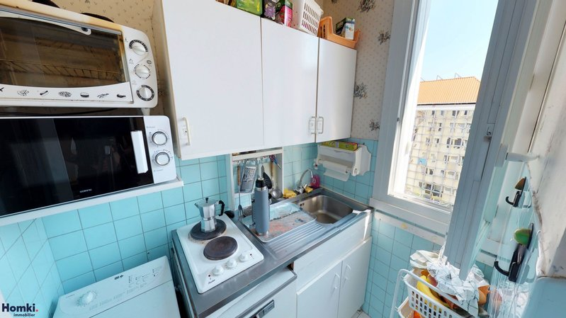 Homki - Vente appartement  de 33.0 m² à marseille 13006