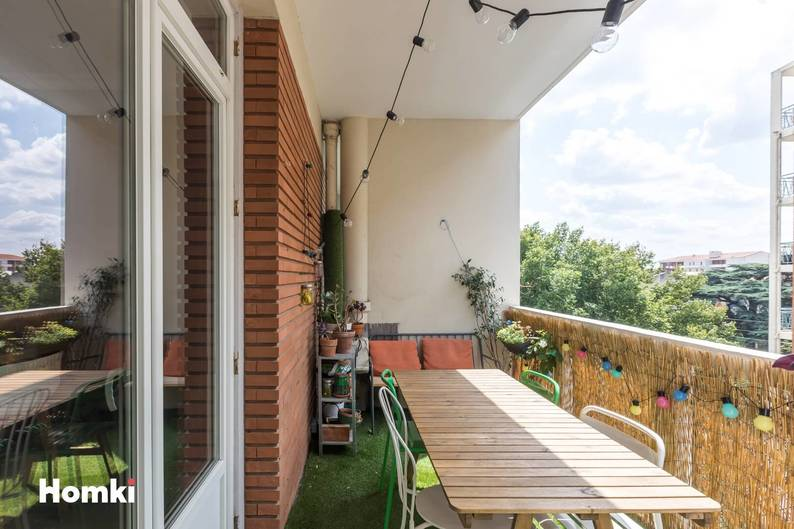 Homki - Vente appartement  de 95.0 m² à Toulouse 31400