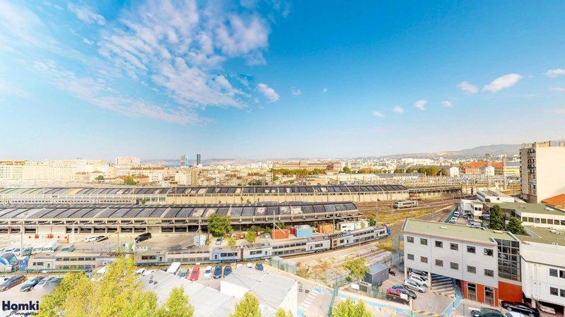 Homki - Vente appartement  de 19.0 m² à marseille 13001