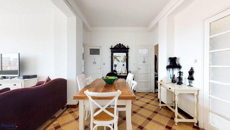 Homki - Vente appartement  de 76.22 m² à marseille 13007