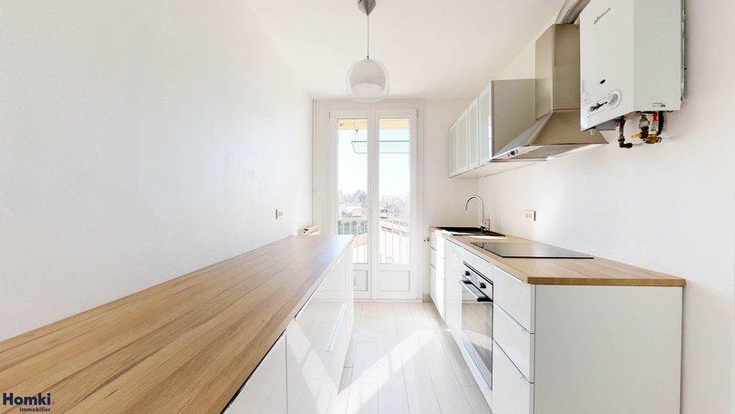 Homki - Vente appartement  de 57.56 m² à Marseille 13012
