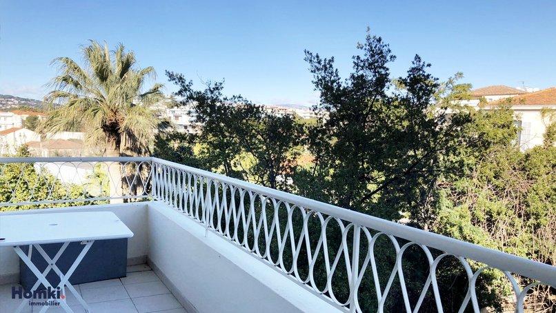 Homki - Vente appartement  de 71.1 m² à Juan les pins 06160