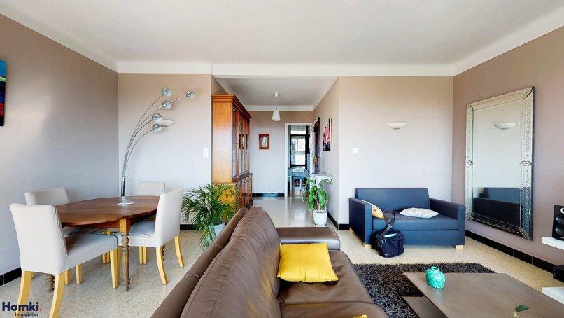 Homki - Vente appartement  de 87.02 m² à Marseille 13012