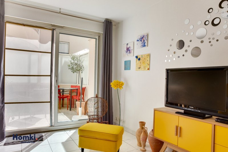 Homki - Vente appartement  de 39.0 m² à Marseille 13006