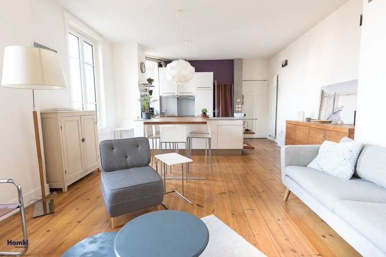 Homki - Vente appartement  de 58.07 m² à Lyon 69007