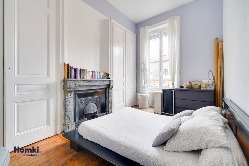 Homki - Vente appartement  de 62.55 m² à Villeurbanne 69100