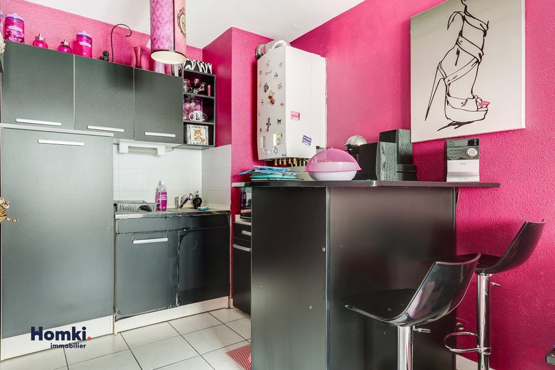 Homki - Vente appartement  de 38.0 m² à Lyon 69003