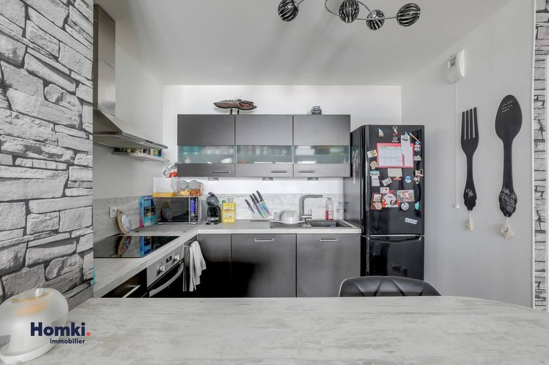 Homki - Vente appartement  de 57.0 m² à Vénissieux 69200