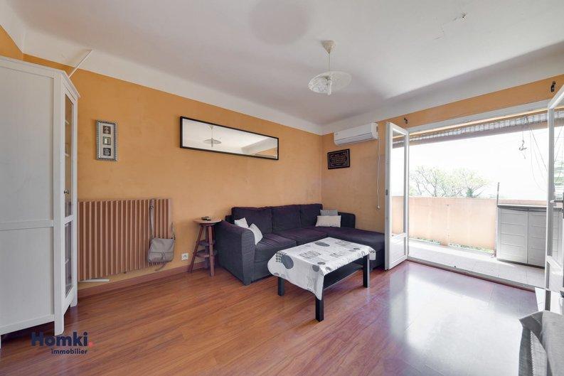 Homki - Vente appartement  de 54.94 m² à Marseille 13015