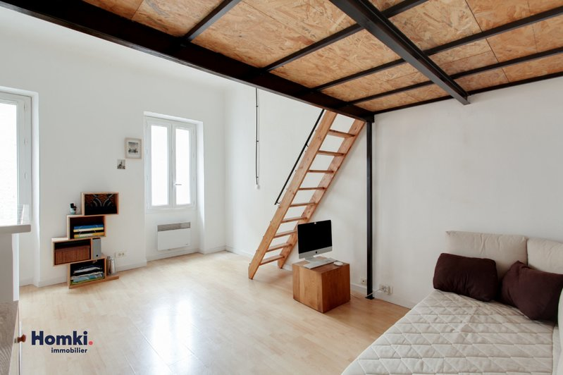 Homki - Vente appartement  de 23.0 m² à marseille 13006