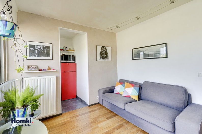 Homki - Vente appartement  de 33.0 m² à bordeaux 33000