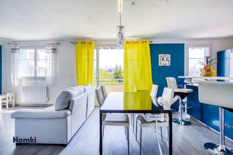 Homki - Vente appartement  de 64.84 m² à marseille 13012