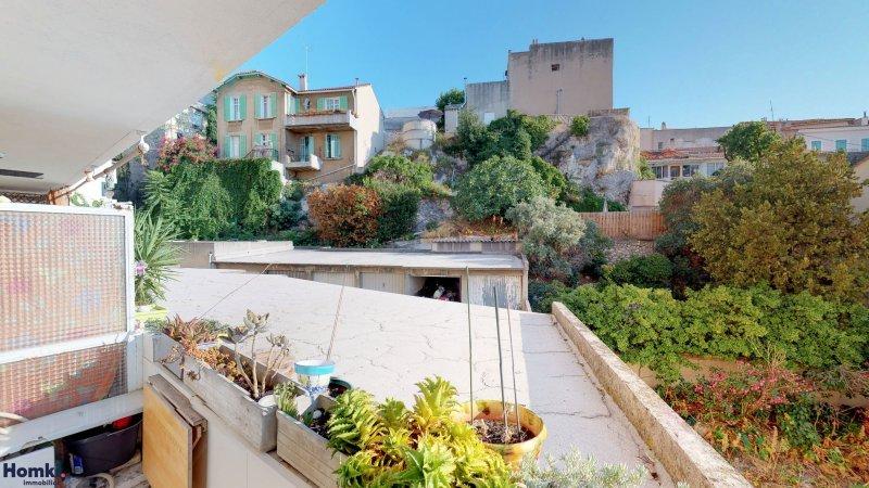 Homki - Vente appartement  de 61.0 m² à Marseille 13007