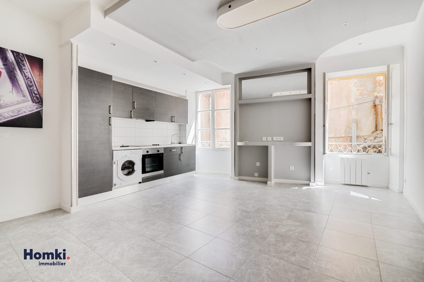 Homki - Vente appartement  de 45.69 m² à menton 06500