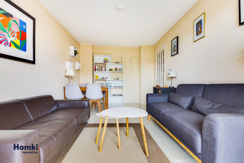 Homki - Vente appartement  de 39.25 m² à Bordeaux 33000