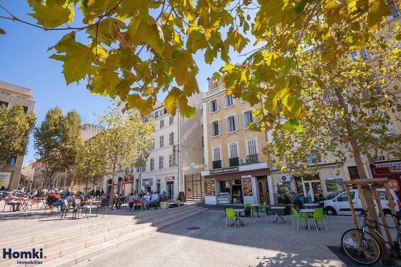 Homki - Vente appartement  de 45.0 m² à marseille 13001
