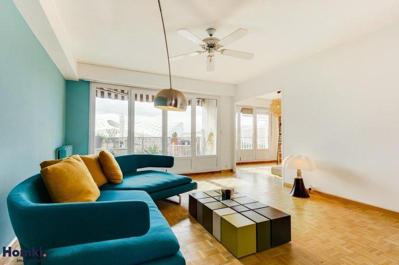 Homki - Vente appartement  de 84.75 m² à marseille 13008