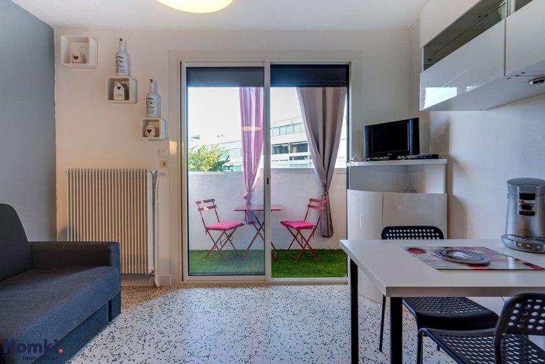 Homki - Vente appartement  de 18.0 m² à balaruc les bains 34540